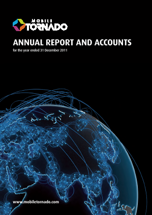 Mobile Tornado Group annual report 2011
