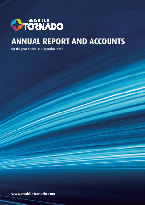 Mobile Tornado Group annual report 2012