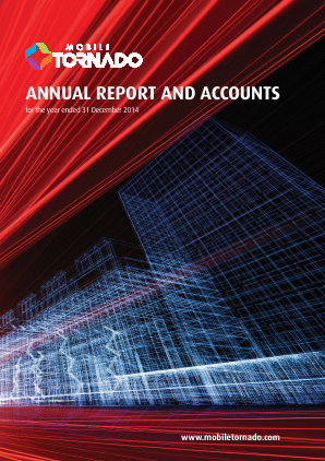 Mobile Tornado Group annual report 2014
