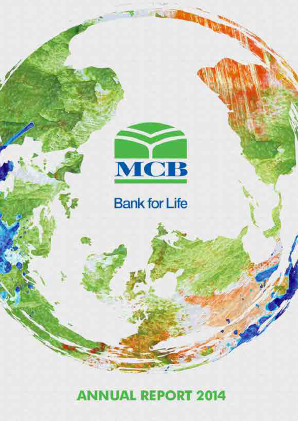 MCB Bank annual report 2014