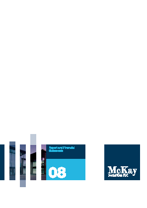 Mckay Securities annual report 2008