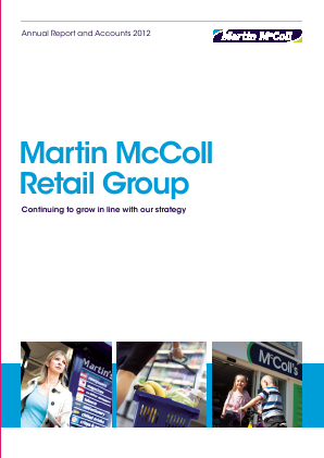 Mccoll�s Retail Group Plc annual report 2012