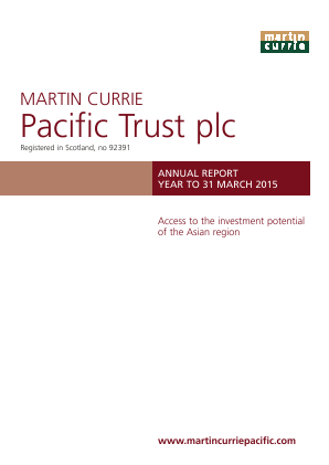 Martin Currie Asia Unconstrained Trust annual report 2015