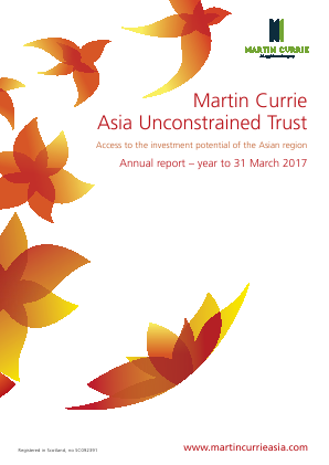 Martin Currie Asia Unconstrained Trust annual report 2017