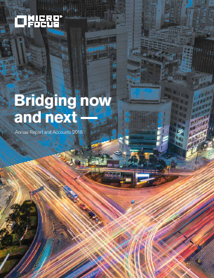 Micro Focus International annual report 2018