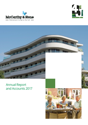 McCarthy & Stone annual report 2017