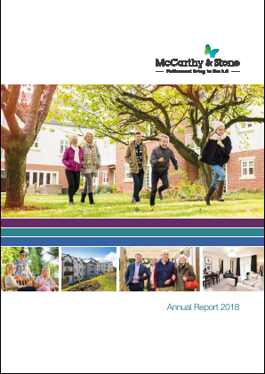 McCarthy & Stone annual report 2018
