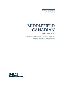 Middlefield Canadian Income PCC annual report 2013