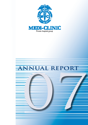 Mediclinic International annual report 2007
