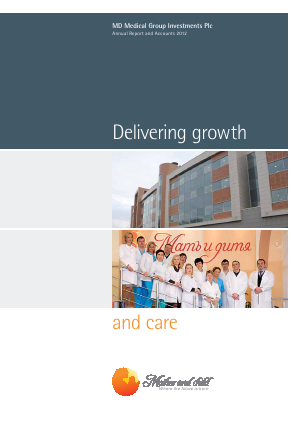 MD Medical Group Invest Plc annual report 2012