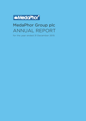 Medaphor Group Plc annual report 2015