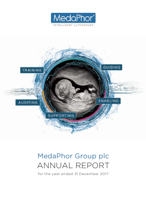 Medaphor Group Plc annual report 2017