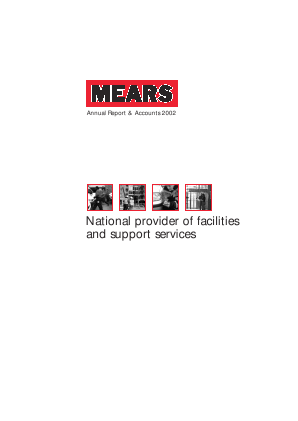 Mears Group annual report 2002
