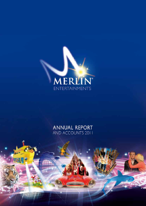 Merlin Entertainments Plc annual report 2011