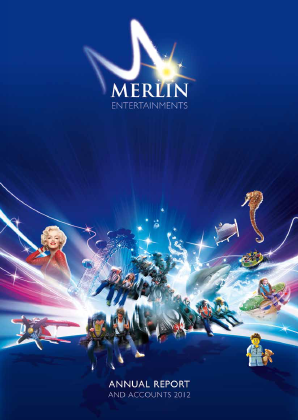 Merlin Entertainments Plc annual report 2012