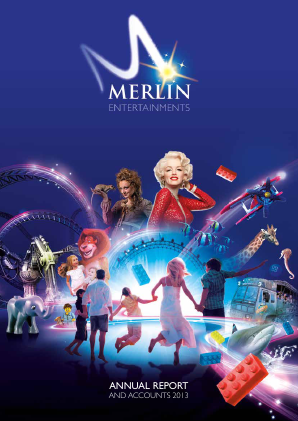 Merlin Entertainments Plc annual report 2013