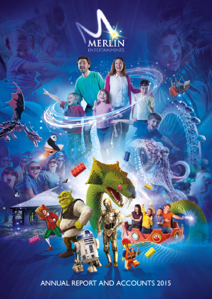 Merlin Entertainments Plc annual report 2015
