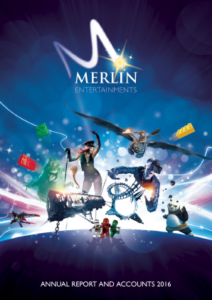 Merlin Entertainments Plc annual report 2016