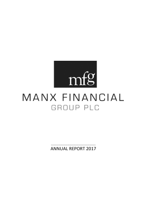 Manx Financial Group Plc annual report 2017