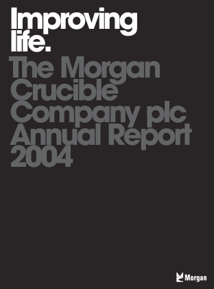 Morgan Advanced Materials Plc annual report 2004