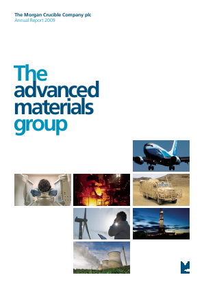 Morgan Advanced Materials Plc annual report 2009