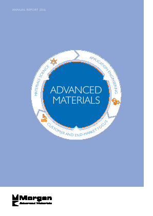 Morgan Advanced Materials Plc annual report 2016
