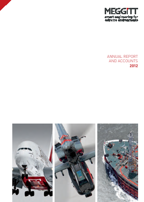 Meggitt Plc annual report 2012