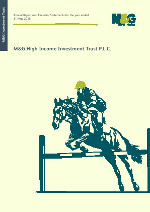 M&G High Income Investment Trust annual report 2015