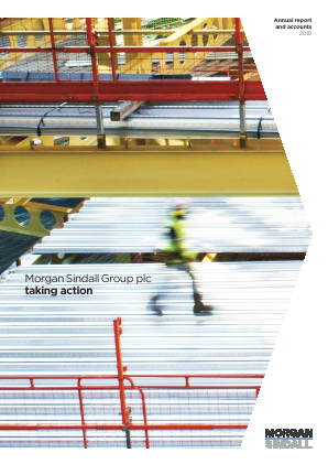 Morgan Sindall Group Plc annual report 2010