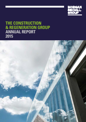 Morgan Sindall Group Plc annual report 2015