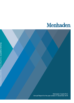 Menhaden Capital Plc annual report 2016