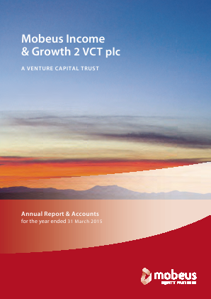 Mobeus Income & Growth 2 VCT Plc annual report 2015
