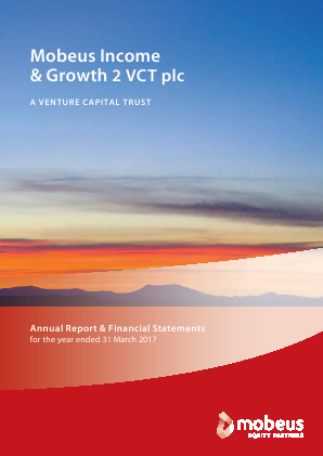 Mobeus Income & Growth 2 VCT Plc annual report 2017