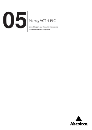 Maven Income & Growth VCT Plc annual report 2005
