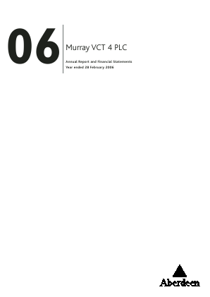 Maven Income & Growth VCT Plc annual report 2006