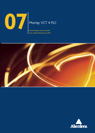 Maven Income & Growth VCT Plc annual report 2007