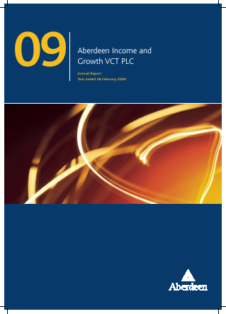 Maven Income & Growth VCT Plc annual report 2009