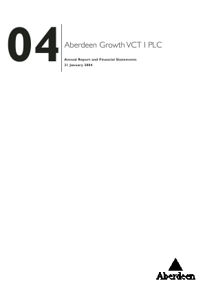 Maven Income & Growth VCT 2 Plc annual report 2004