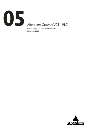 Maven Income & Growth VCT 2 Plc annual report 2005