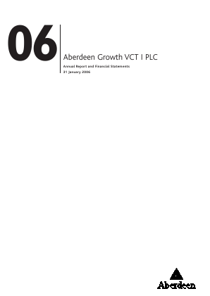 Maven Income & Growth VCT 2 Plc annual report 2006