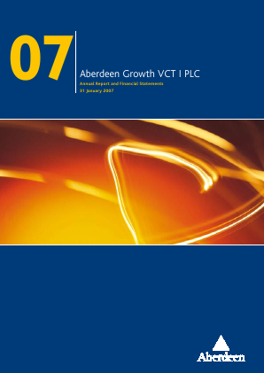 Maven Income & Growth VCT 2 Plc annual report 2007