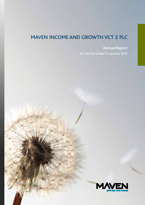 Maven Income & Growth VCT 2 Plc annual report 2015