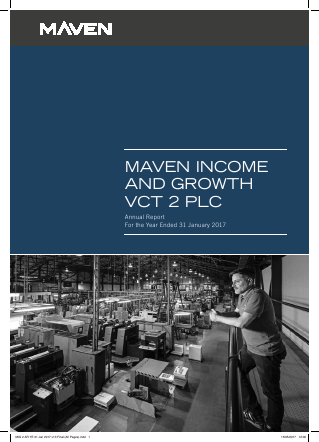 Maven Income & Growth VCT 2 Plc annual report 2017