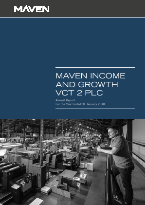 Maven Income & Growth VCT 2 Plc annual report 2018