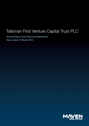 Maven Income & Growth VCT 6 Plc annual report 2011