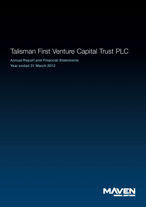Maven Income & Growth VCT 6 Plc annual report 2012
