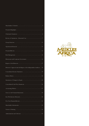 Meikles annual report 2004