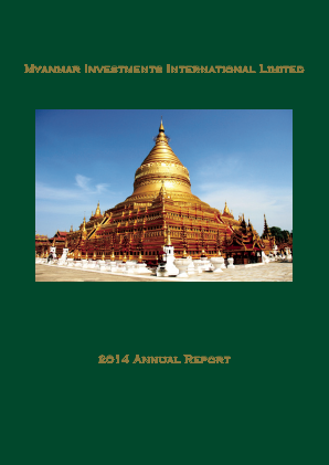 Myanmar Investments Intl annual report 2014