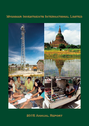 Myanmar Investments Intl annual report 2015
