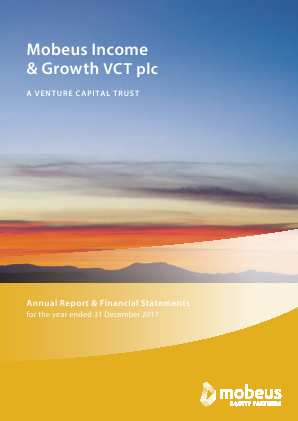 Mobeus Income & Growth VCT Plc annual report 2017
